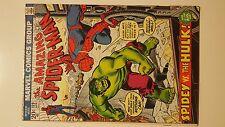 AMAZING SPIDER-MAN #119  Spider-Man vs Hulk