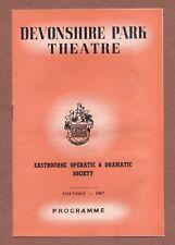 "Eastbourne Operatic Soc.,  ""New Moon""  Romberg, Devonshire Park,  Members JX249"