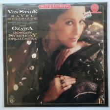 FEDERICA VON STADE Ravel Sheherazade CBS MASTERSOUND LP Still Sealed Ozawa