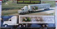 Ertl JOHN DEERE Express Semi Truck Lawn Mower 1/64 Sealed 1996