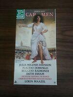 Georges Bizet CARMEN 3 CASSETTE Tapes Box Set & Booklet 1985 Opera French Import