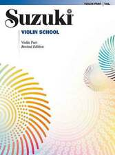 Suzuki Violin School Volume 5 Revised Edition Book Only *NEW* Music