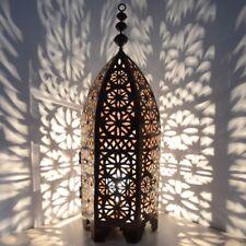 Orientalische Eisenlaterne Laterne Schmiedeeisen Marokkanische Lampe ELM_90 cm