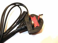 PLAYSTATION 1 2 PS2 XBOX POWER CABLE LEAD NEW 3 PIN UK