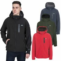 Trespass Accelerator II Mens Softshell Jacket Windproof Coat with Hood