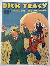 dick tracy  foils the mad doc hump   shester gould