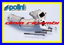 Collettore POLINI doppia aspirazione carburatore PIAGGIO VESPA PK 2 fori 2150200
