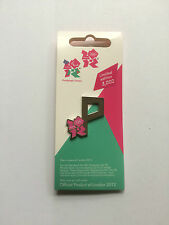 London 2012 Olympic Pins - Alphabet Letters - New on Backing Card