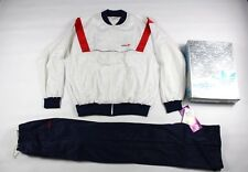 Vintage New 80s Adidas Mens XL Spell Out Trefoil 2 Piece Run DMC Track Suit USA
