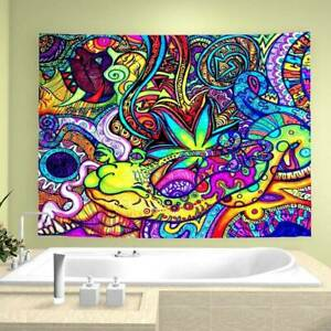 Tapestry Wall Hanging Bedspread Indian Hippie Gypsy Tapestries Bohemian Cover.