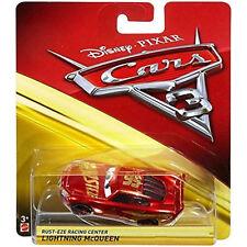 Cars 3 Lightning McQueen Rusteze Rust-eze Racing Centre 1:55 scale Die Cast Car