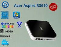 Cheap Acer Aspire R 3610 Intel Atom RAM:3GB, HDD:160GB, Windows 7 WIFI-HDMI