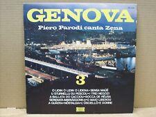 Piero Parodi - Piero Parodi Canta Zena - Genova 3 - LP - 33 RPM - JOKER 1973