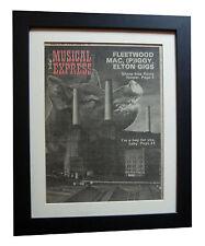 PINK FLOYD+Animals+RARE ORIGINAL NME1977+POSTER+FRAMED+EXPRESS GLOBAL SHIP