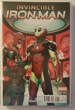 INVINCIBLE IRON MAN #1 HASTINGS DEADPOOL VARIANT NM/M BAGGED AND BOARDED HOT