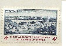 US 1164 First Automated Post Office, Providence 4c single MNH 1960
