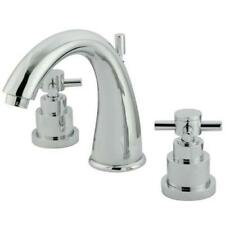 Kingston Brass Chrome Two Handle 8 to 16 Widespread Lavatory Faucet KS2961EX