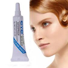 1x Adhesive Waterproof Clear White False Eyelashes Makeup Adhesive Eye Lash Glue