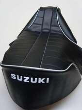MOTO FUNDA DE ASIENTO - SUZUKI RV90 & RV125 sandbike (ribete blanco)