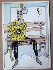 Carte postale Homme assis,banc,Tornero ,CPSM