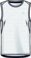 adidas SUPERNOVA sin mangas Camisa Funcional Camiseta de musculación M blanco