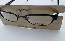 FOSSIL GLASSES FRAME Racine Black of1195001