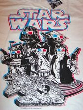 STAR WARS T-Shirt Darth Vader YODA Boba Fett LARGE NEW