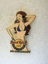 SANTO DOMINGO,Hard Rock Cafe Pin,Sexy Bikini 3rd Anni