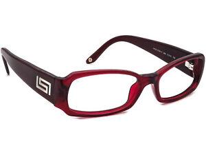 Versace Eyeglasses MOD. 3129-H 388 Red Wine Crystal Frame Italy 51[]15 135