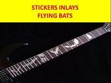 STICKER INLAY FLYING BATS FRETBOARD DECAL VISITE NUESTRA TIENDA CON MAS ARTICULO
