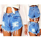 Fashion Women Sexy Hot Pants Summer Casual Denim Shorts Jeans High Waist Short