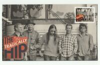 The TRAGICALLY HIP = music band = Recording Artists = FDC, OFDC, Canada 2013