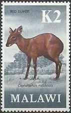 Timbre Animaux Malawi 158 ** (30137)