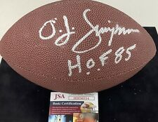 OJ Simpson Signed Football Mini Football JSA Bills NFL Wilson