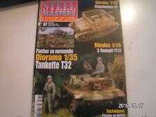 **d Steel Masters n°67 unités de chars de l'armée Yougoslave / FT 17 Canon