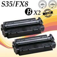 2 PK S35 Toner For Canon FX8 ImageCLASS D320 D340 D383 FAXPhone L170 7833A001AA