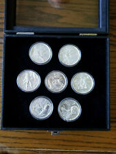 Privateer Series - 2 oz. Silver Rounds, Complete Set, Ultra High Relief