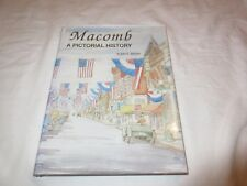 Macomb: A Pictorial History by John E. Hallwas 0943963141 Free Shipping Book