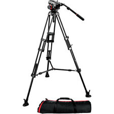 Manfrotto 504HD Head w/546B 2-Stage Aluminum Tripod System!! BRAND NEW!!
