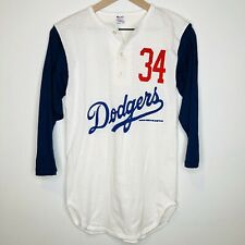 Fernando Valenzuela 1987 Vintage Baseball T-Shirt (Champion Tag) Men's Small