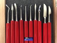 PVC Handle Wax Carving Tools Set of 10