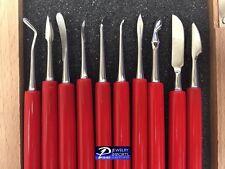 PVC Handle Wax Carving Tools Set of 10