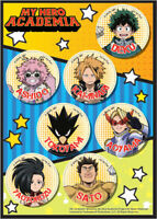 **Legit** My Hero Academia Deku Momo Tokoyami Denki Authentic Sticker Set #55798