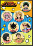 **Legit** My Hero Academia Deku Momo Tokoyami Denki Authentic Sticker Set #55798