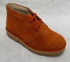 BNIB Clarks Originals Desert Boot Rust Suede First Shoes