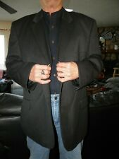 Men's Charcoal Pronto Uomo Sport Coat Blazer Size 52 R