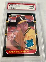 Mark McGwire PSA 10 Gem Mint 1987 Donruss #46 Baseball Card RC Graded