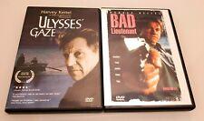 Ulysses' Gaze & Bad Lieutenant Harvey Keitel DVD LOT