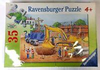 Ravensburger Busy Builders Kids Jigsaw Puzzle 35 Piece 30x21cm No 086467