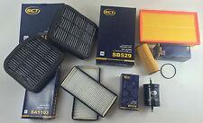 Set filtri 7 x Filtro SCT Germania W210 S210 200 COMPRESSORE 186 CV